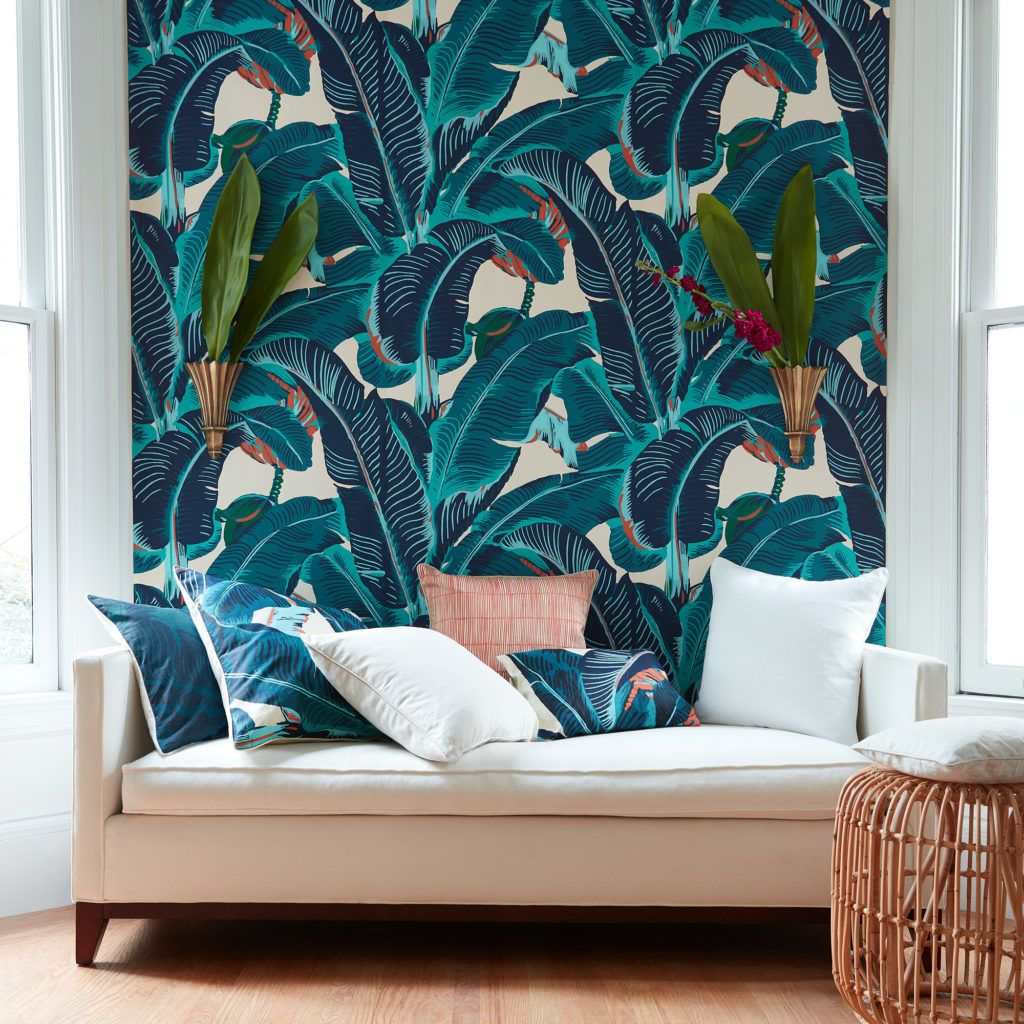 Martinique CW Stockwell Beverly hills hotel wallpaper