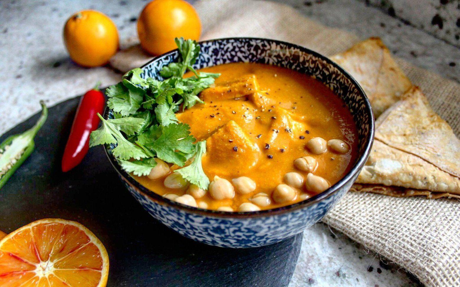 15 Tasty, Tangy Orangey Vegan Recipes! Tofu curry