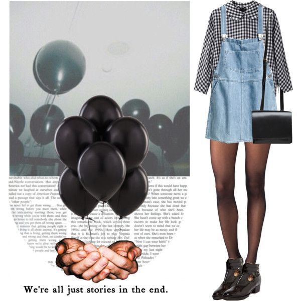 we're all just stories in the end by hanye on Polyvore featuring Comme Comme, Wolford, H&M, ASOS and Rachel Comey