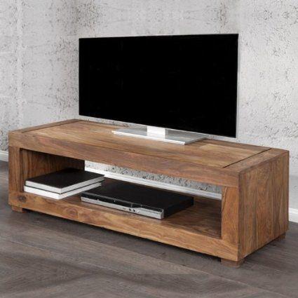 cag tv tisch fernsehtisch mumbai aus sheesham massiv holz gewachst 120cm k che. Black Bedroom Furniture Sets. Home Design Ideas