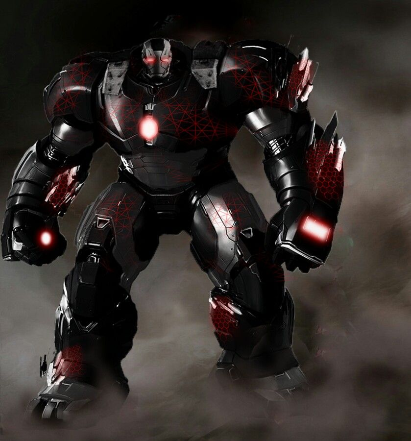 Hulkbuster War Machine By Tiago Kinney Jacob Tuttle War Machine