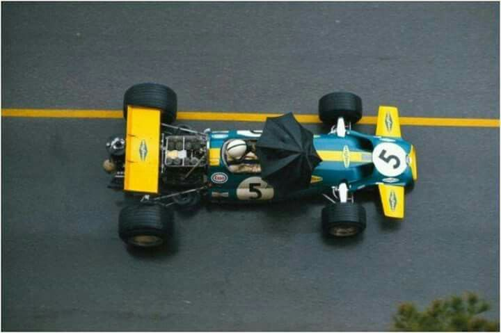 1970 Monaco GP, Monte Carlo : Jack Brabham, Brabham BT33 #5, Brabham Racing Organisation, 2nd. (ph: © Schlegelmilch)