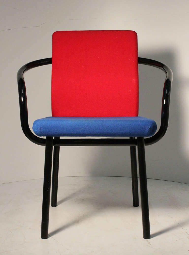 Set Of Ettore Sottsass Memphis Armchairs For Knoll Color # Muebles Memphis
