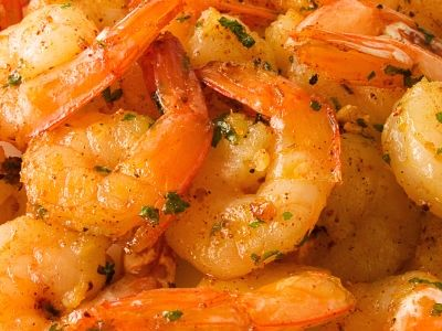 Grilled Shrimp Recipe with Italian Dressing and Honey