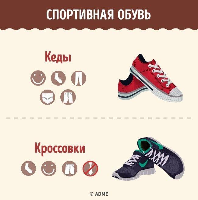 выражение человек виды спортивной обуви названия с картинками его пользуется