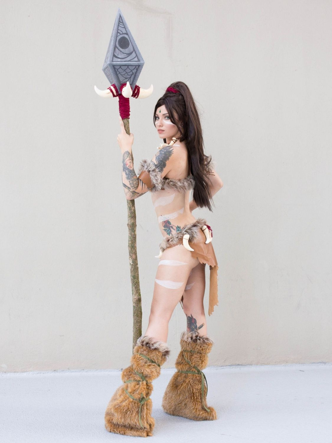 Character: #Nidalee from League of Legends Cosplayer: Ladee Danger