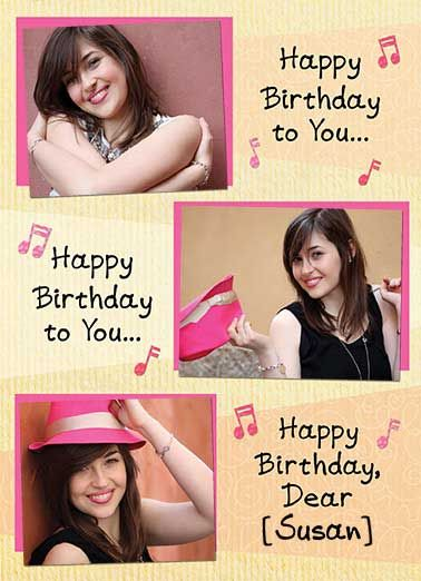 Funny Birthday Card Add Your Photo We Totally Love You Add Your