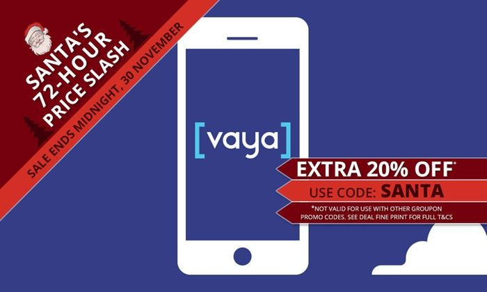 New Customers 796 For 4 Months Of Vaya Unlimited 15GB Mobile Plan 199 Per