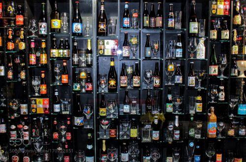 Mur de bière by pascaldion75  IFTTT 500px