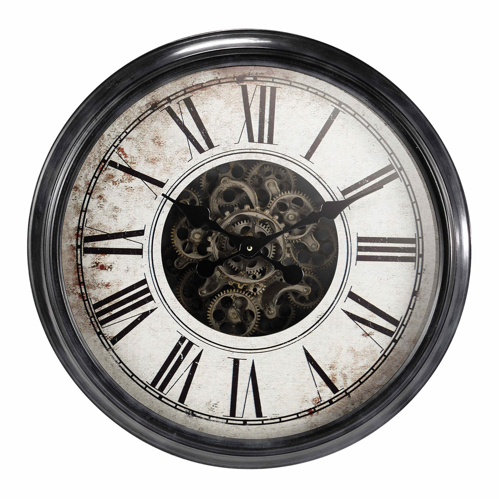 Horloge Industrielle Maison Du Monde Auch Inspirant: Wanduhr GALILÉE Aus Metall, D62