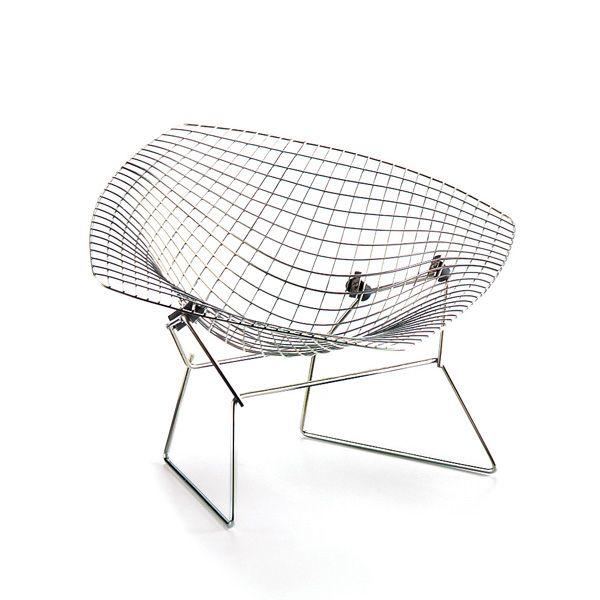 Diamond Chair, Harry Bertoia, 1952
