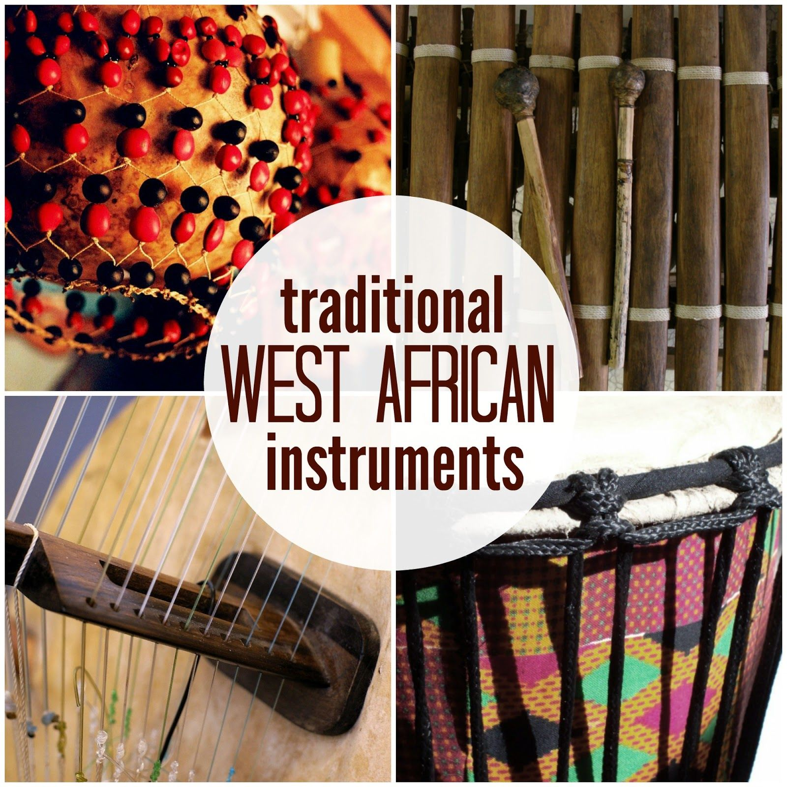 Marie S Pastiche Traditional West African Instruments