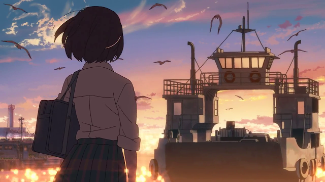 Cross Road- Reflection on a Makoto Shinkai short film