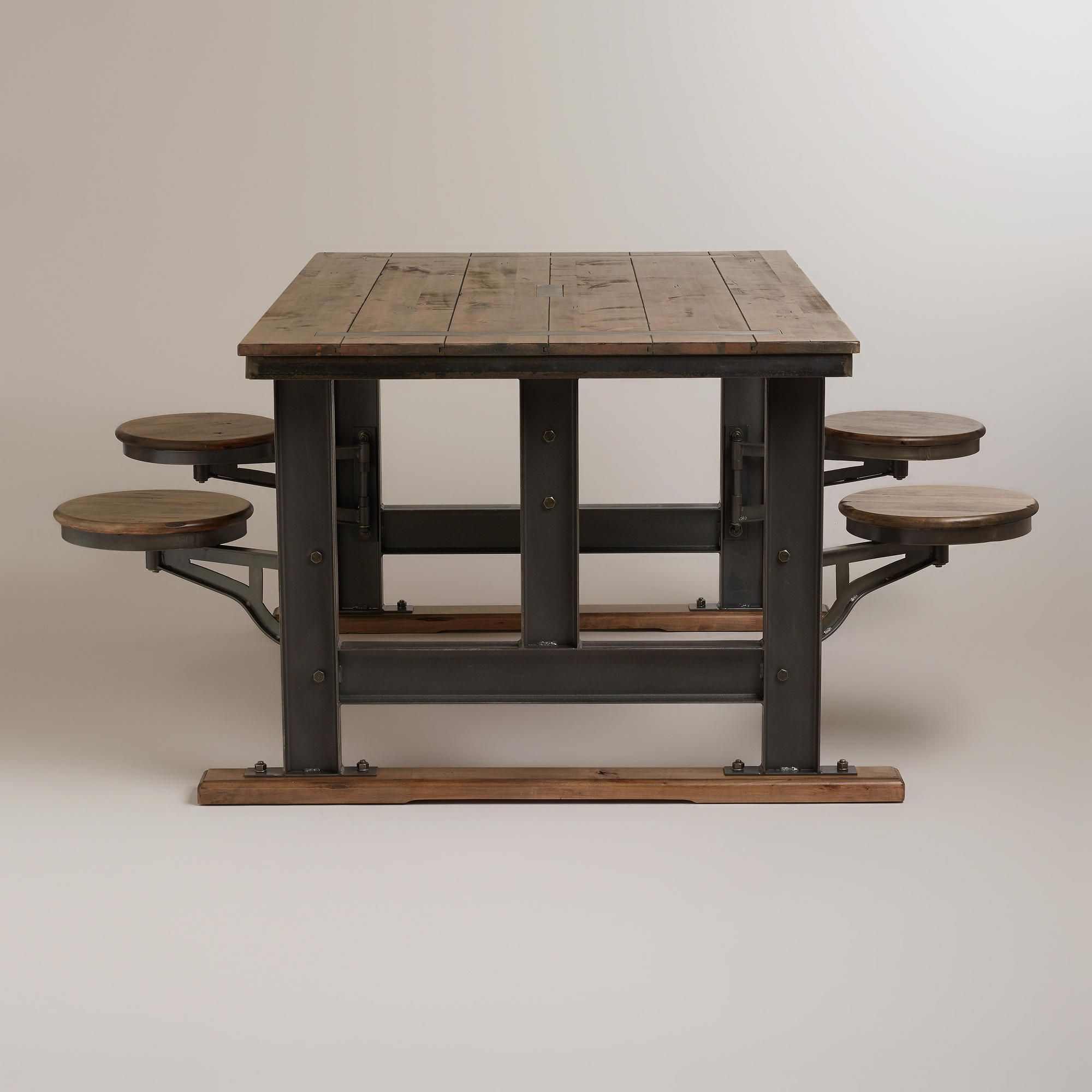 Galvin Cafeteria Table Stools, Breakfast nooks and