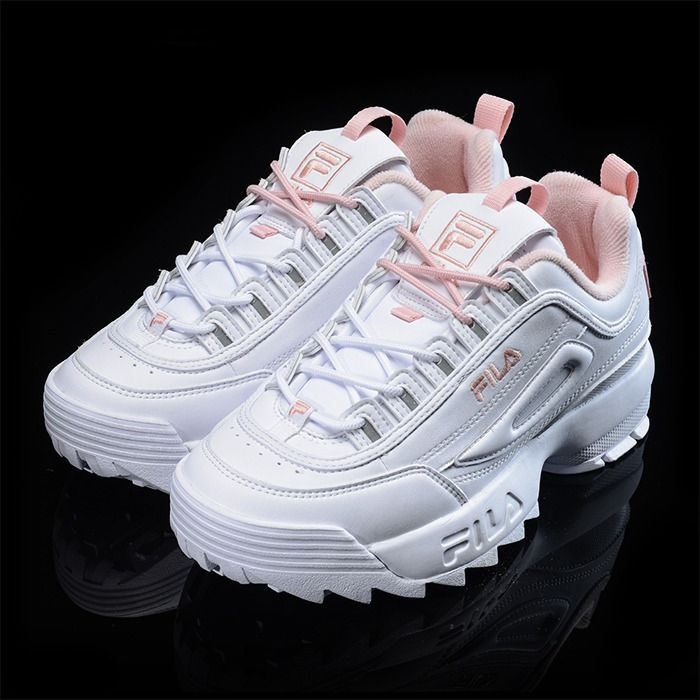 36ce73756d3 Function: FILA Disruptor II 2 FS1HTZ3074X. UNISEX SIZE. WHITE / PINK.  •Color: WHITE / PINK. These shoes are narrow. •Condition : New In Box. |  eBay!