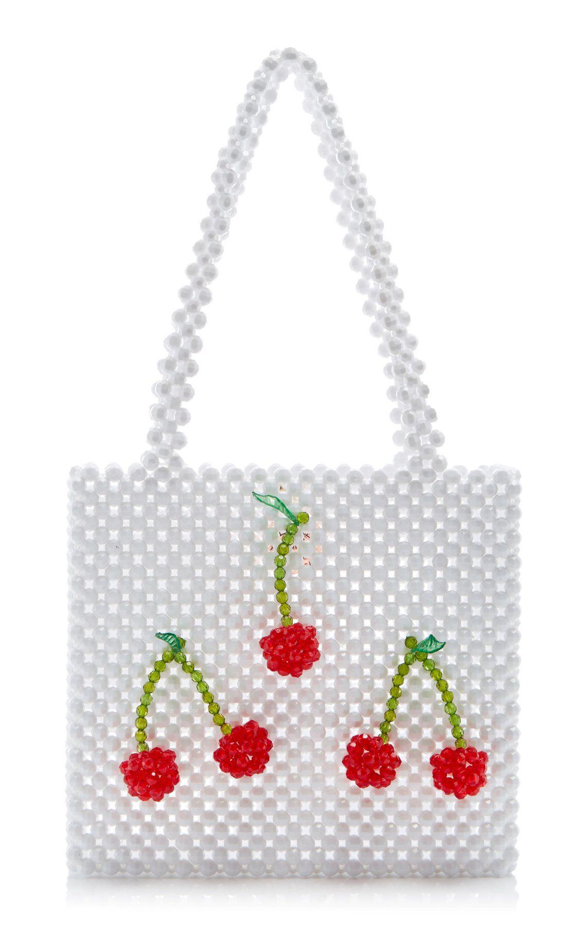 Ma Cherie Bag By Susan Alexandra Moda Operandi With Images Beaded Bags Hand Beaded Bag