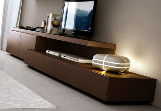 Modulo bajo factory muebles muebles de tv pinterest for Muebles modernos living para tv