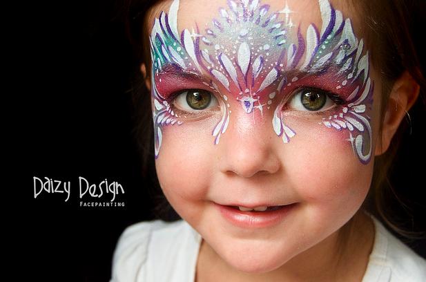 Facepainting Mask- cute little princess