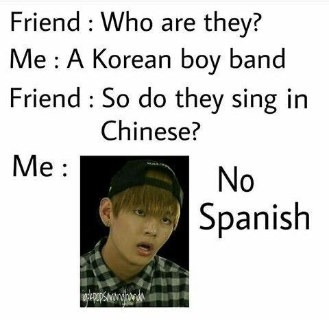 I Thought It Was French Kpop Bts Kpop Memes Bts Funny Jokes