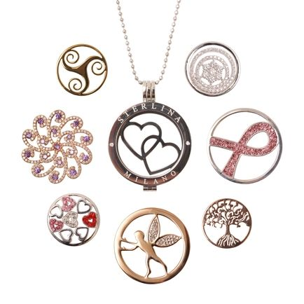 Interchangeable pendants light images light ideas sterlina milano magnetic locket pendants with interchangeable sterlina milano magnetic locket pendants with interchangeable coins available aloadofball Images