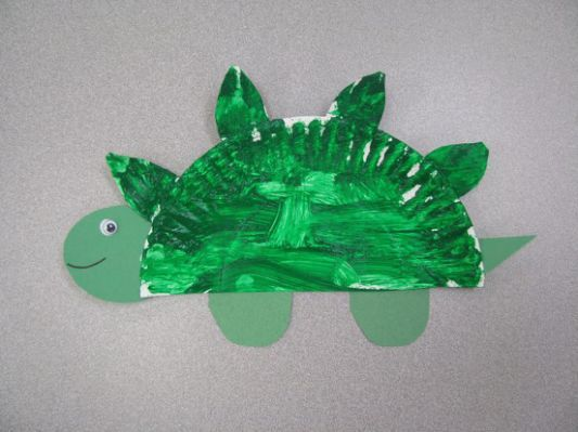Dinosaur Craft Art Projects For Keep Board Secret