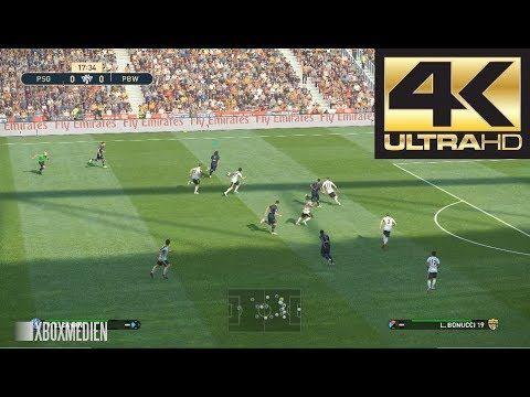 PES 2019 4K 60 FPS Amazing Realism LIVE Broadcast Camera PSG vs Juventus4K