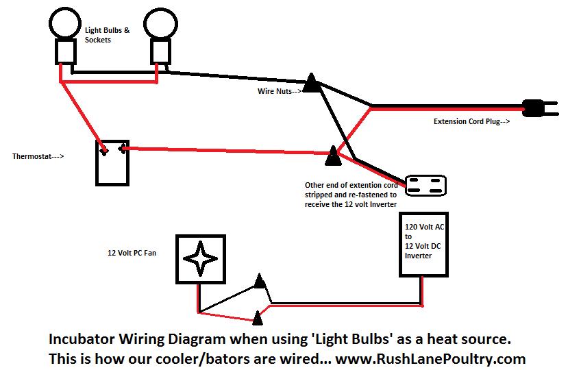 homemade chicken incubator incubator wiring diagram
