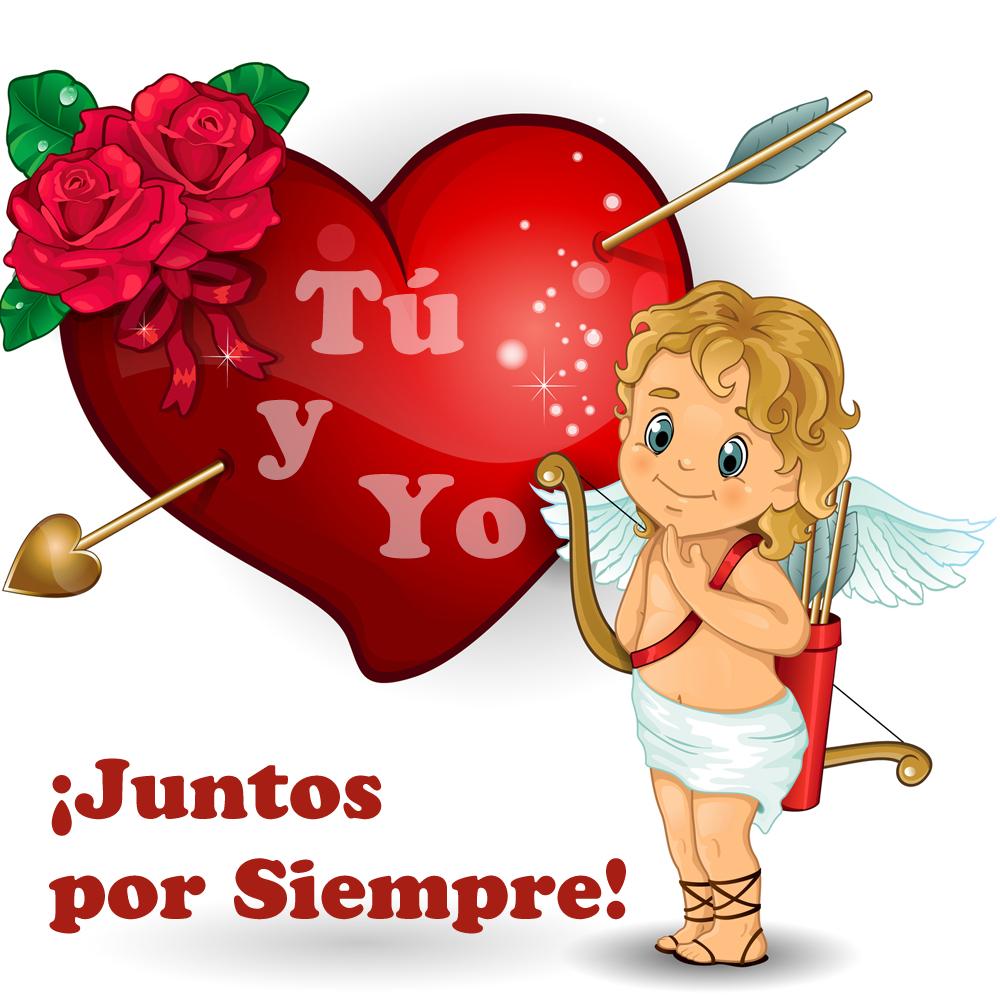 Amor y sentimientos del corazon Juntos siempre  san valentin