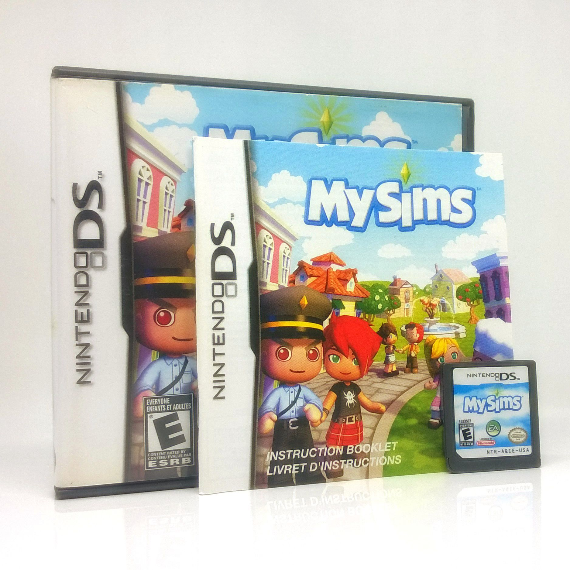 MySims Nintendo ds games, Ds games, Card games