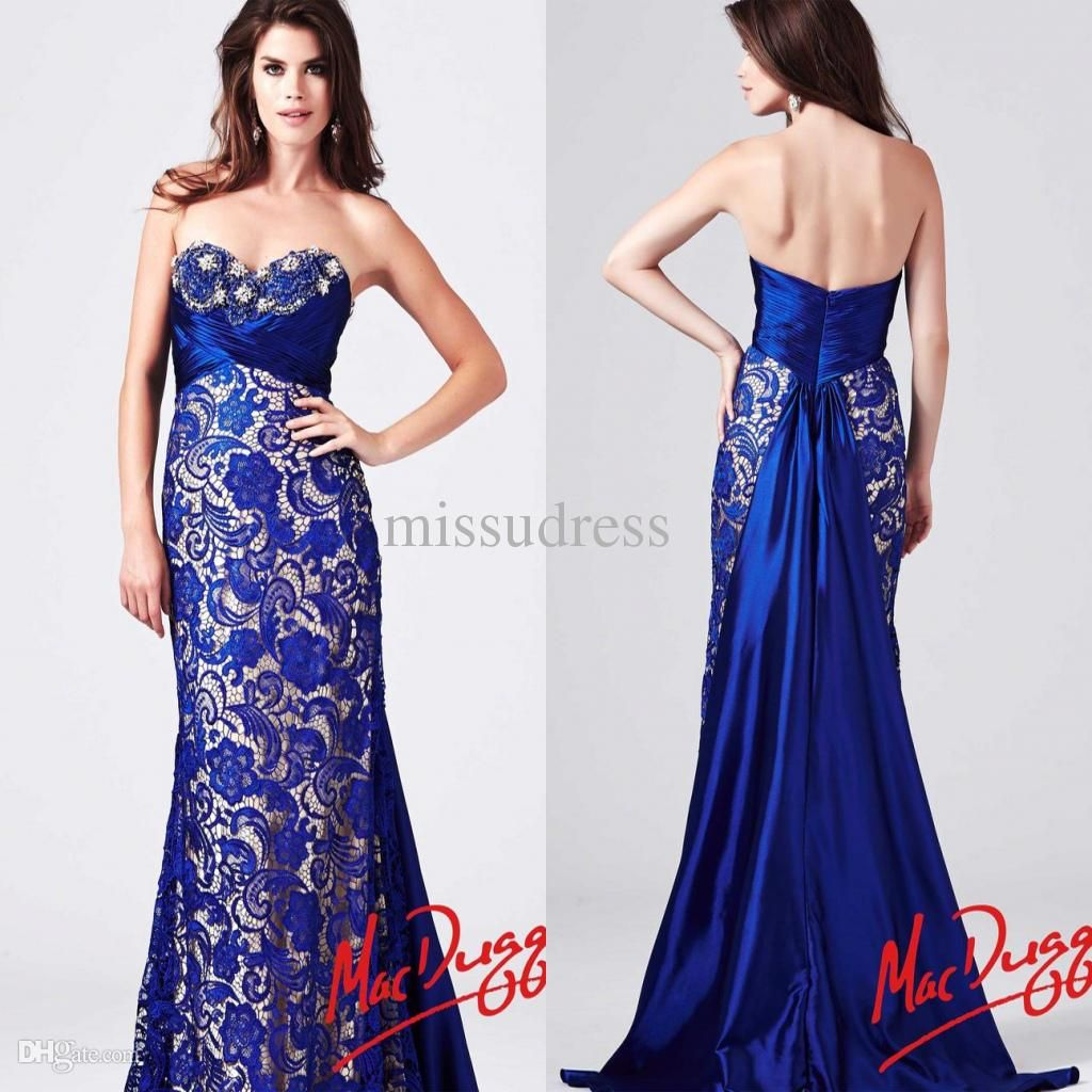royal blue wedding dresses - Google Search | Wedding Style Board ...