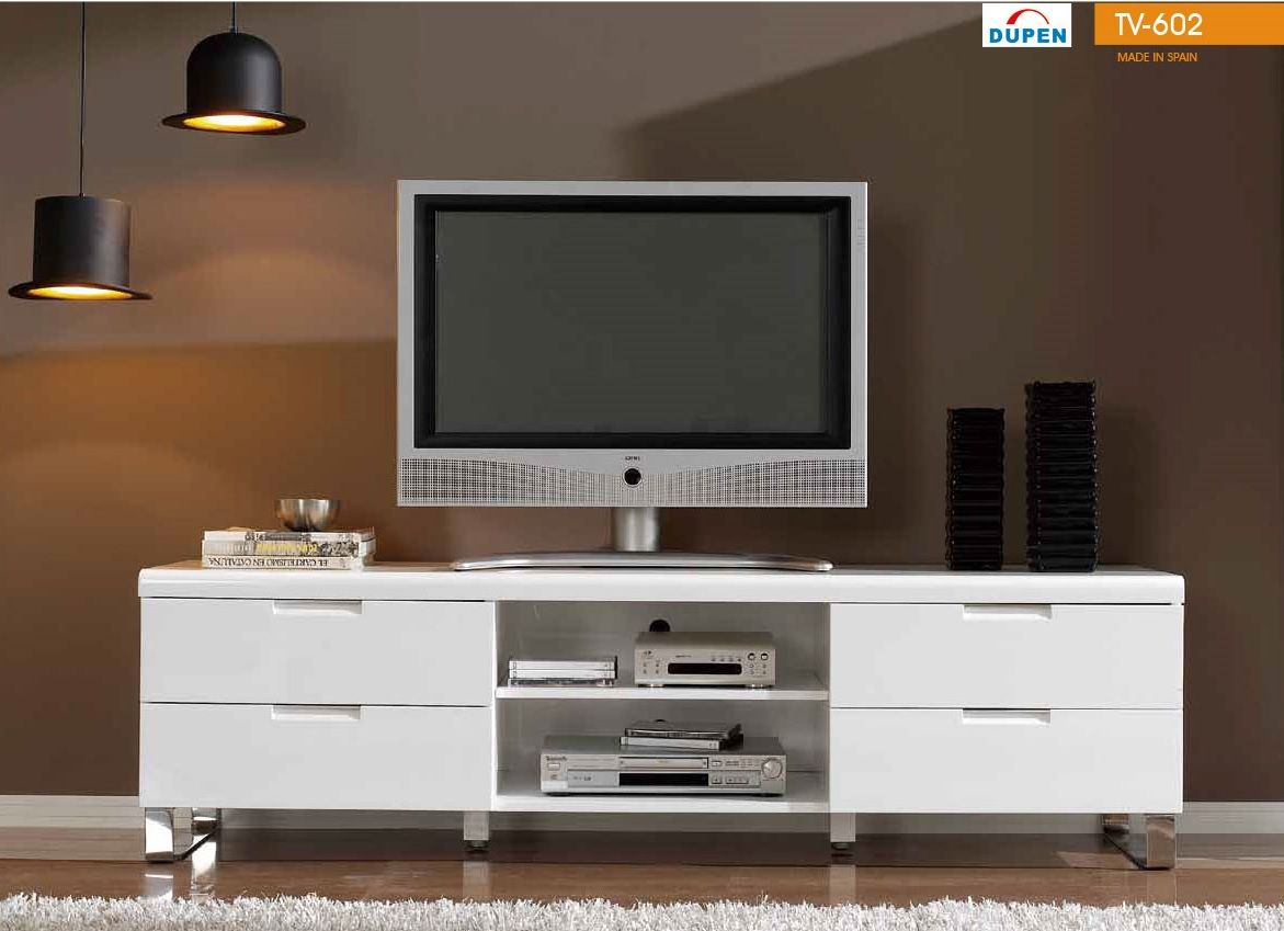 602 tv stand in white lacquer finish by dupen made in spain 602 tv stand in white lacquer finish by dupen made in spain geotapseo Image collections