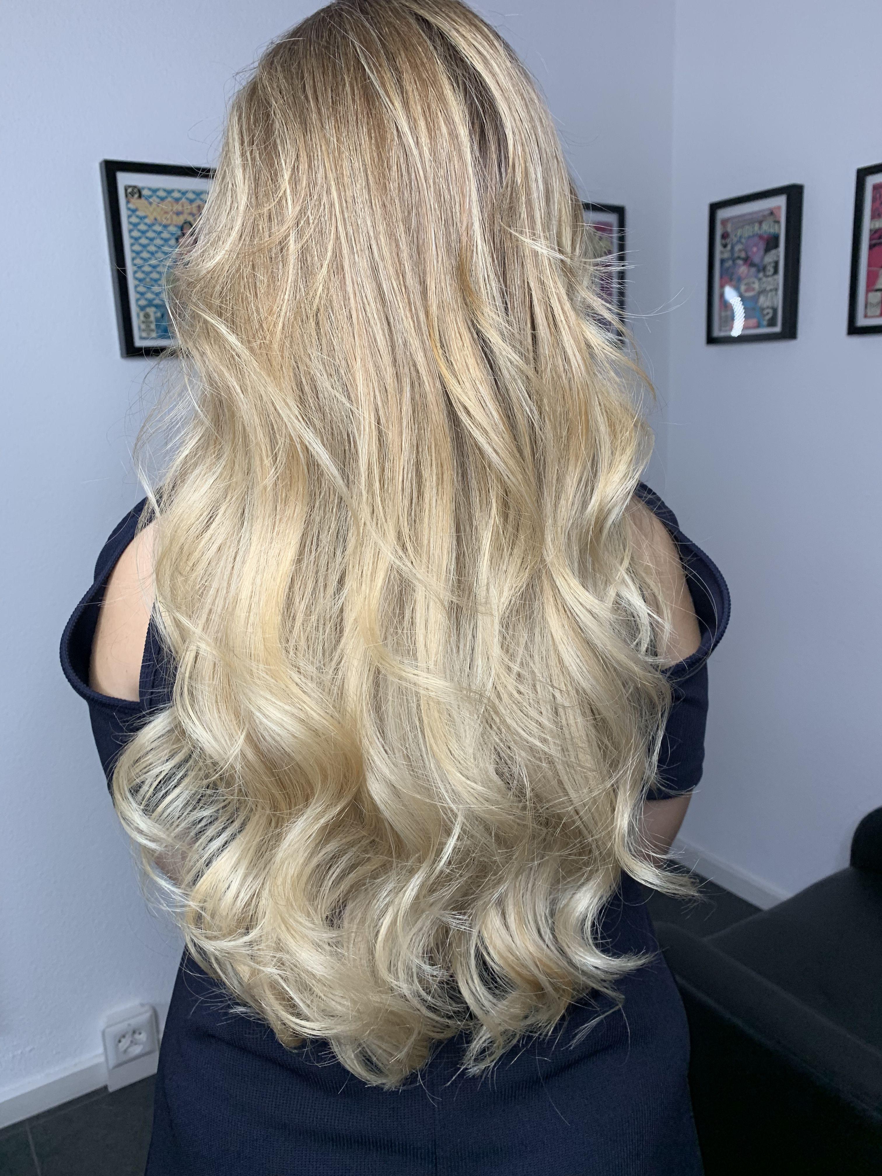Balayage Blond Long Hair | Lange blonde haare, Frisuren