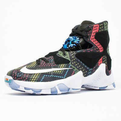 cheap for discount b7bc5 58f2c Nike Lebron XIII 13 BHM Mens 828377-910 Black History Month 2016 Shoes Size  11