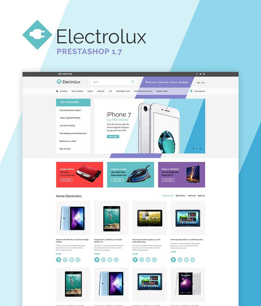 electrolux prestashop theme