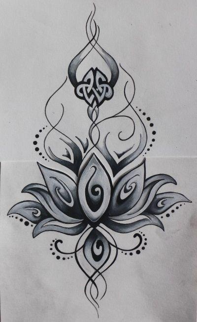 Favorit dessiner de tatouage rose - Recherche Google | fleur a dessiner  YP69