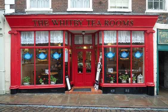 The Whitby Tea Rooms,Yorkshire: