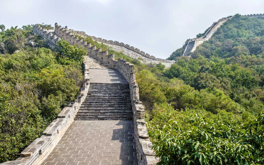 take a virtual hike on the great wall of china from the on great wall of china id=35160