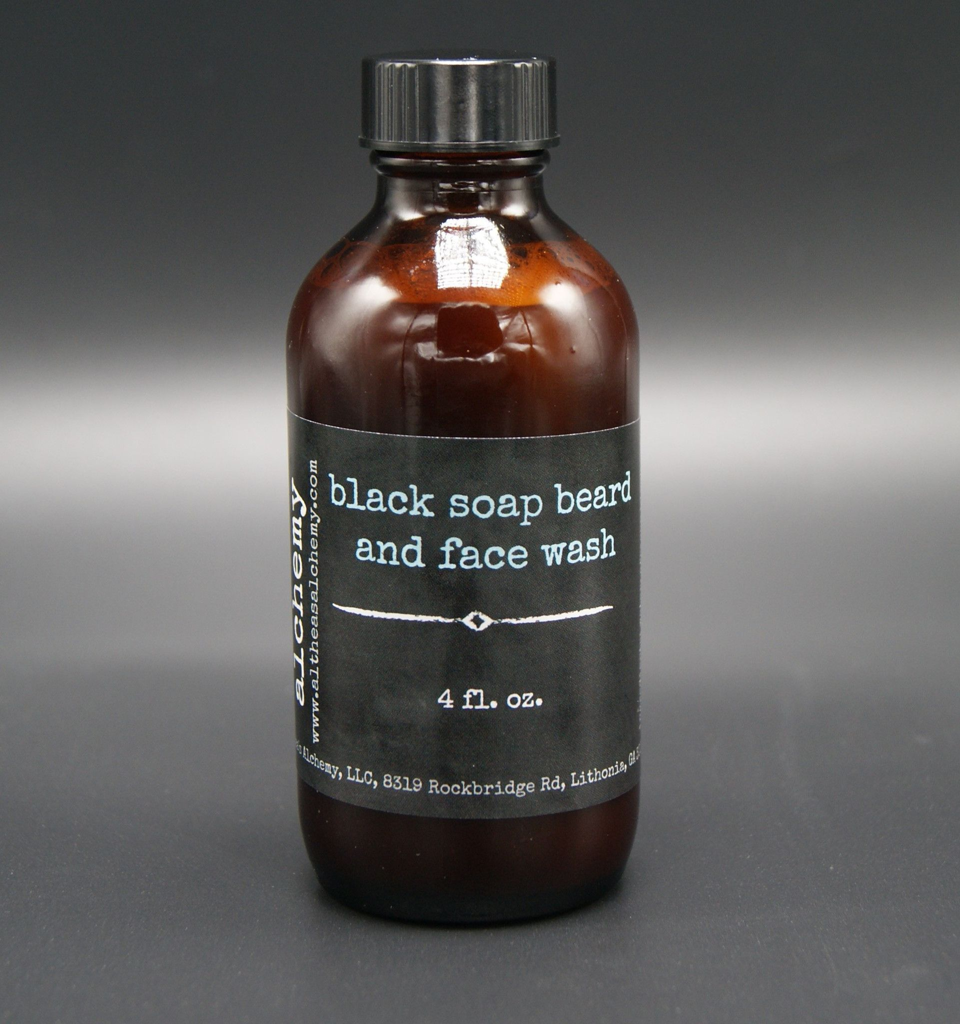 This beard and face wash is made from pure African Black