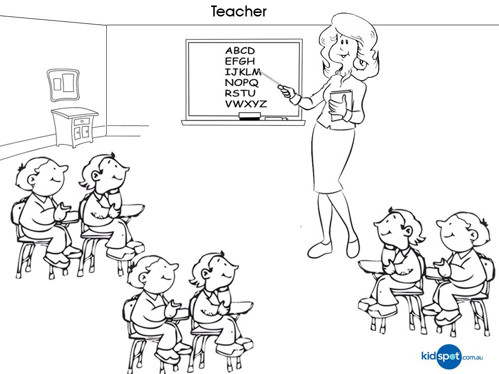 teacher to color pesquisa google - Teacher Coloring Pages
