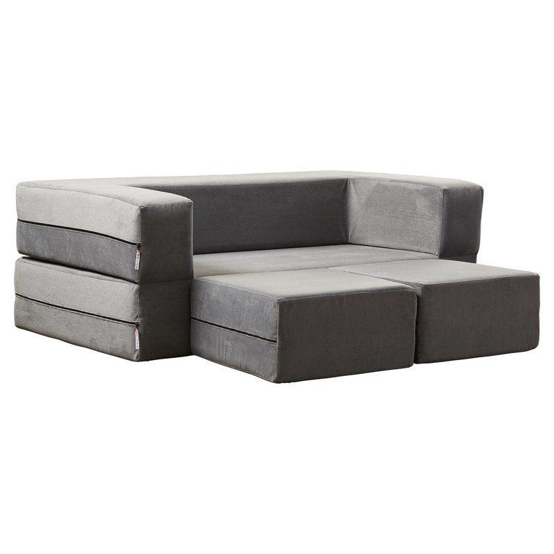 Eugene 61 Square Arm Sofa Bed Loveseat Sleeper Living Room Furniture Sale Living Room Furniture Layout