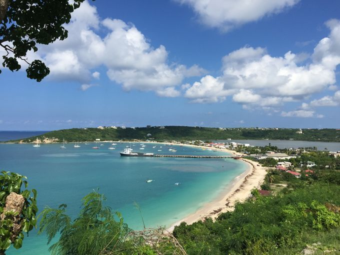 Thursday night is the night on Anguilla, and all roads