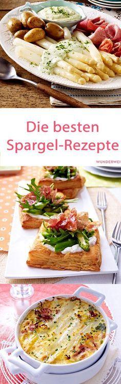 18 feine Spargel Rezepte zum Nachkochen  | Wunderweib #shrimprecipes