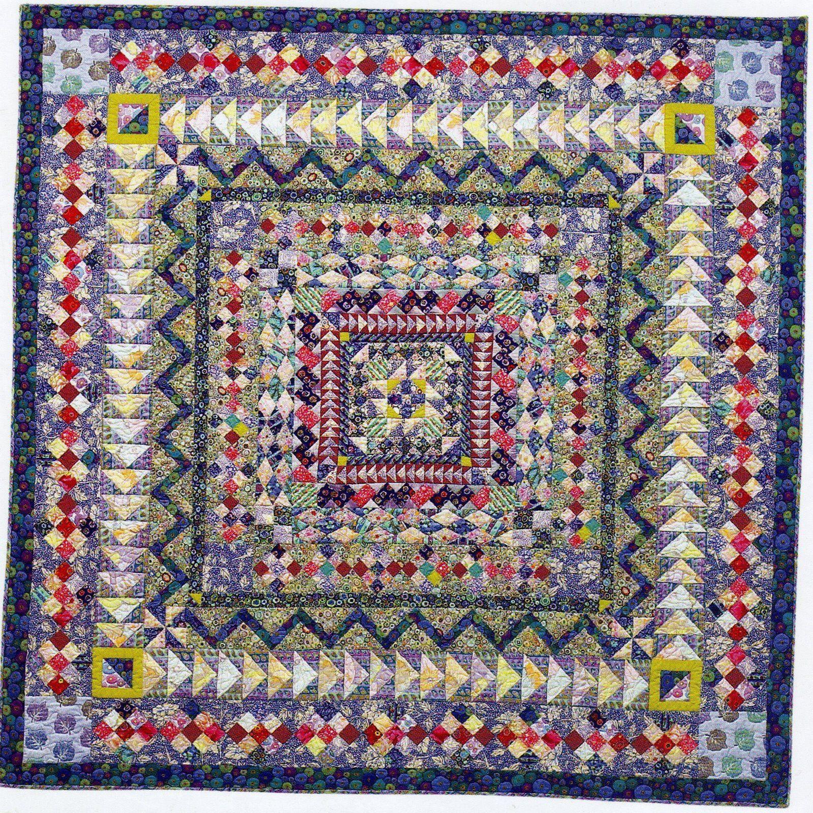 Alewivesgirl Kaffe Fassett Botm Medallion Quilt Kaffe Fassett Quilts Quilts