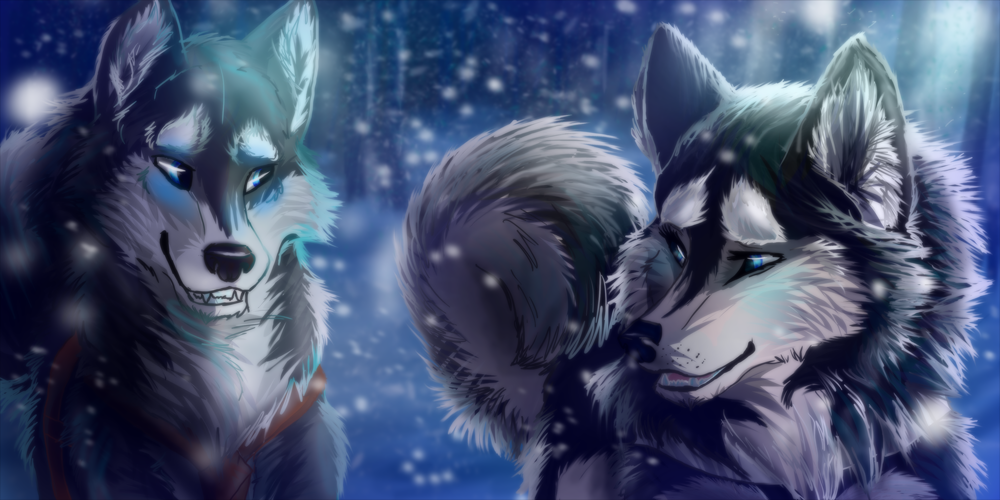 wolf song animated | anime wolf pack images janice and ...