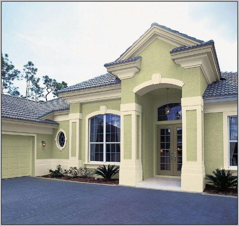 Beispiele Fur Fassadenfarben Architektur 4