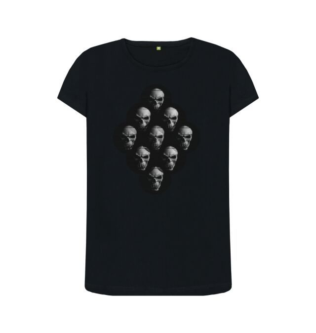 Photo of Skulls Diamond shape Womens T shirt
