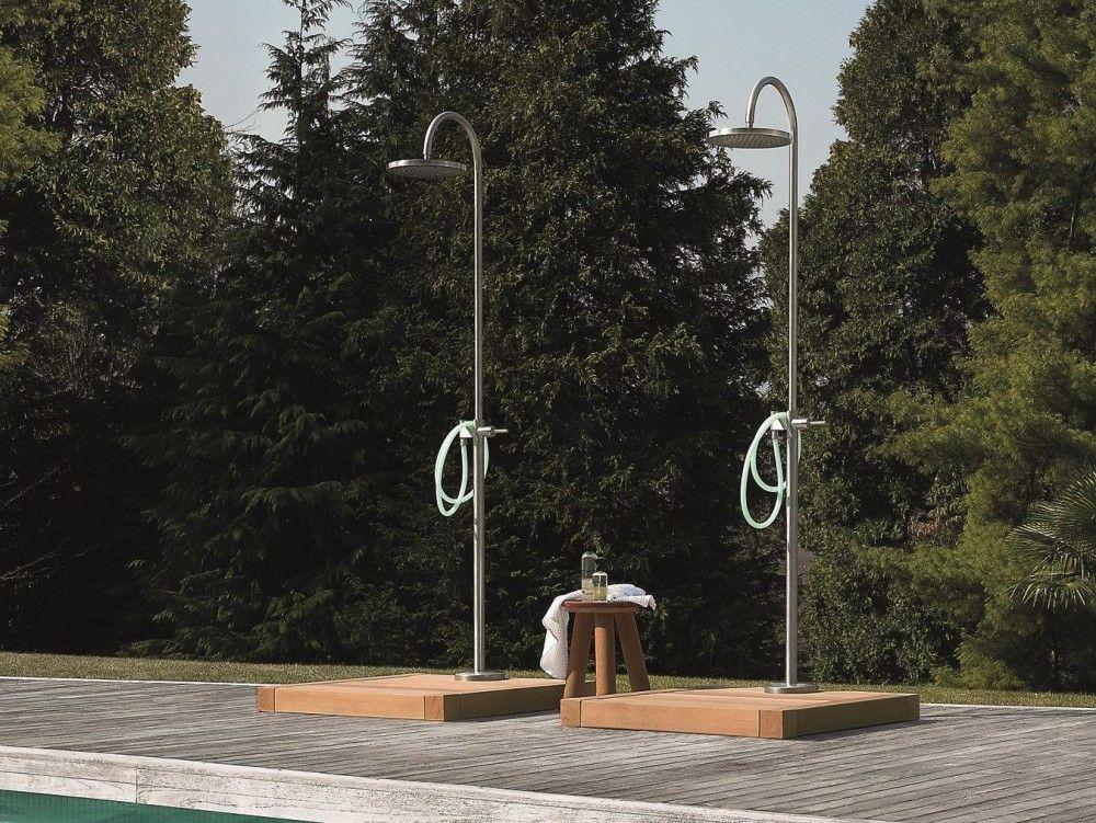Duchas de exterior para piscinas Kos | Baño Quincho | Pinterest ...