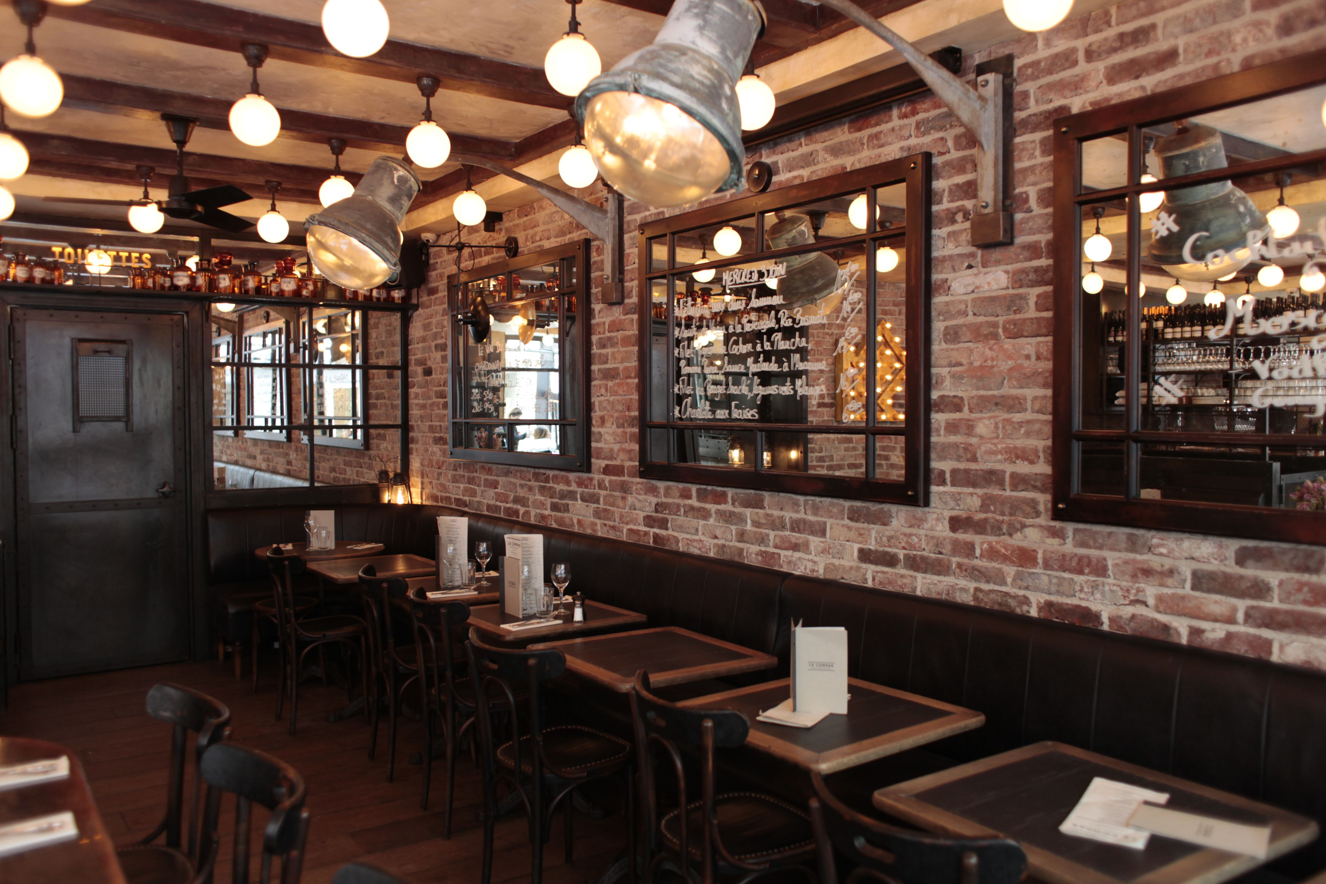 Le compas paris lafondad restaurant cafe brasserie