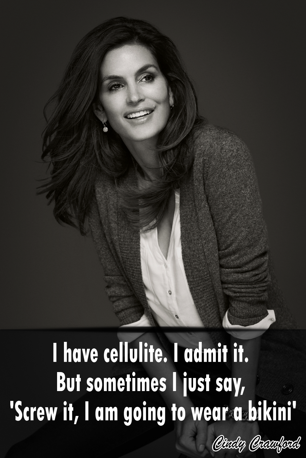 Pin On Quotes Cindy Crawford