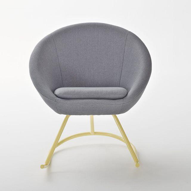 rocking chair boule janik la redoute interieurs. Black Bedroom Furniture Sets. Home Design Ideas